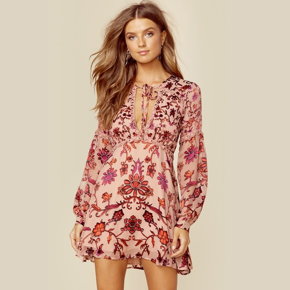 565d86cd21 For Love   Lemons Saffron Mini Dress